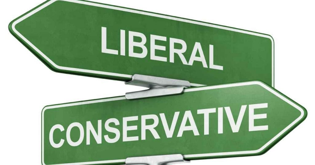 Liberal and Conservative Thinking