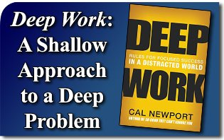 Difference between Deep Work and Shallow Work