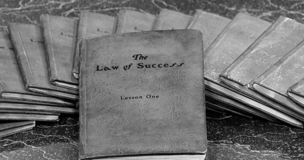 The Law of Success In Sixteen Lessons Summary-header