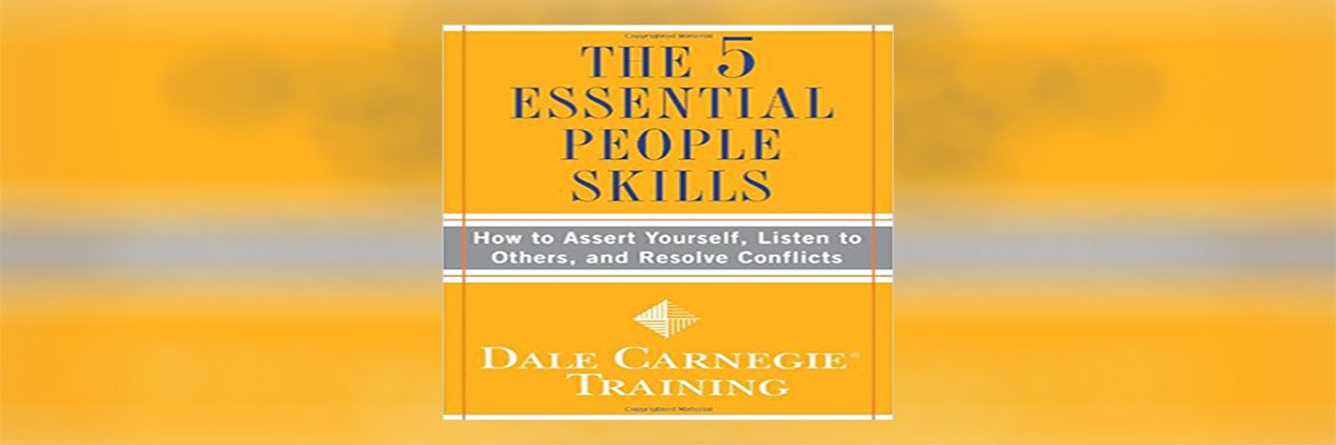 The 5 Essential People Skills Summary - header