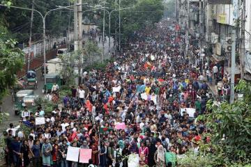 What's Happening in Bangladesh? Bangladesh Student Protest for Road Safety