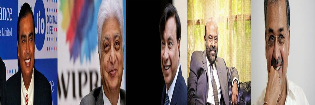 Top 5 Richest Person In India